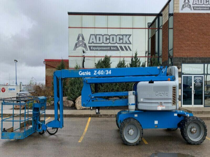 2011 Genie Z-60/34 Boom Lift - Dual Fuel - Buy $940/mo DELIVERED