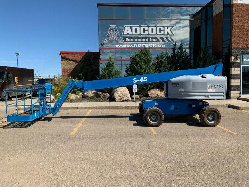 2008 Genie S-45 Straight Boom Lift -GENERATOR - $735/m DELIVERED