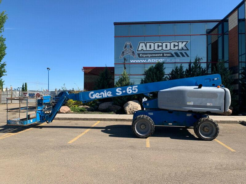 2005 Genie S-65 Boomlift SALE PRICING - $649/month DELIVERED