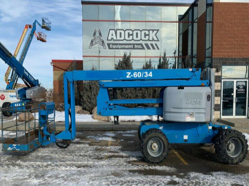 2008 Genie Z-60/34 Articulating Boom Lift - $845/month DELIVERED