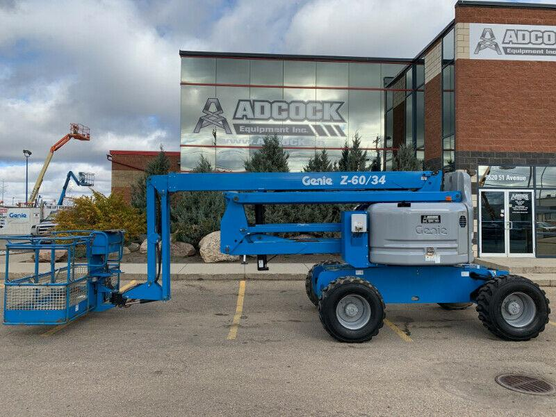 Genie Z-60/34  Articulating Boom Lift BUY@$881/month DELIVERED