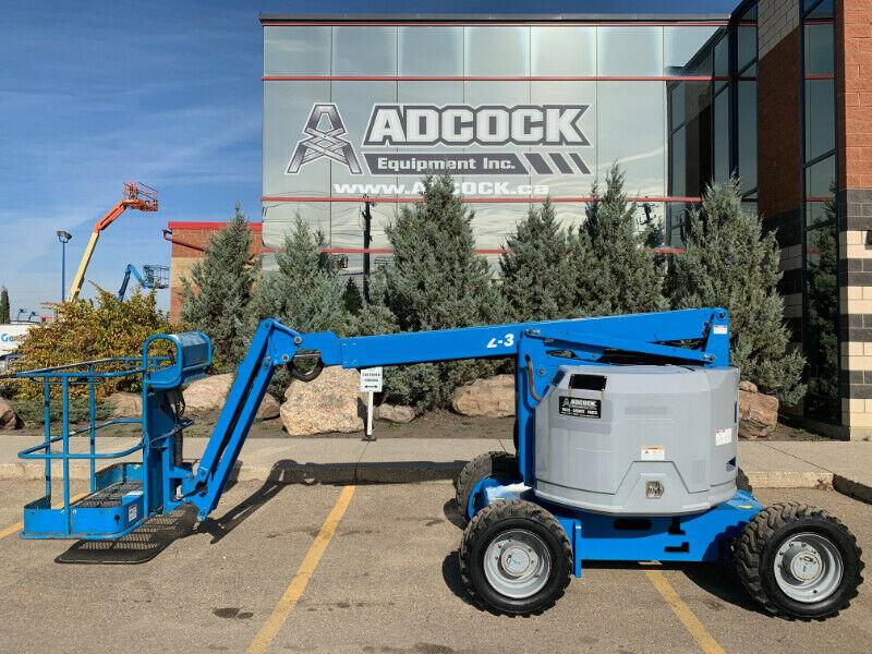 2013 Genie Z-34 Boom Lift  GAS / PROP 10,500LB  HAUL ON YOUR OWN