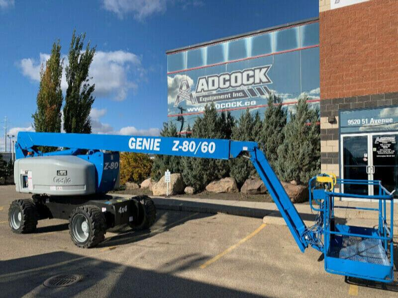 2013 Genie Z-80/60 Articulating Boom Lift -$1362/month DELIVERED