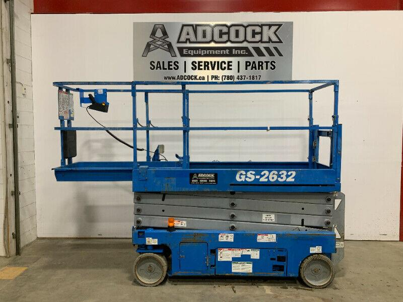 2013 GENIE 2632 Electric Scissor Lift -$240/month DELIVERED