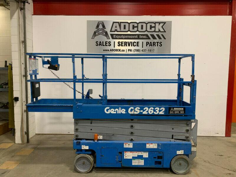 2013 GENIE 2632 Electric Scissor Lift -$250/month DELIVERED