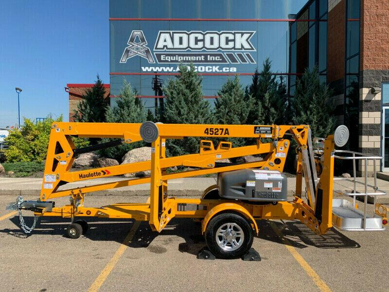NEW 2020 Haulotte 4527A Towable Boom Lift  BUY@ 961 /m DELIVERED