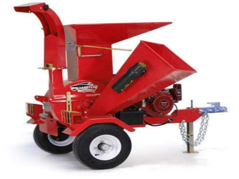 New Wallenstein Trailer Mounted Chipper/Shredder BXMT3213