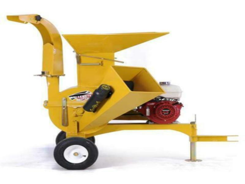 New Wallenstein Trailer Mounted Chipper/Shredder BXMT3209