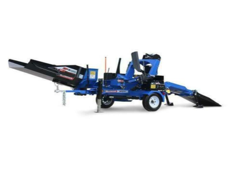 Wallenstein WP840 Firewood Processor Trailer