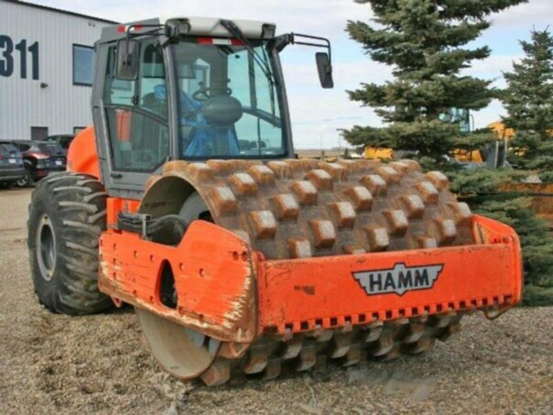 HAMM 3412P Padfoot Compactor