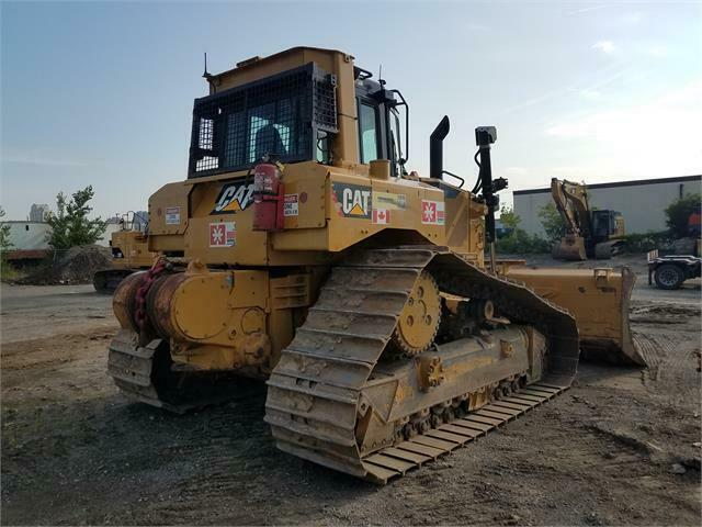 CAT D6 DOZER WITH WINCH
