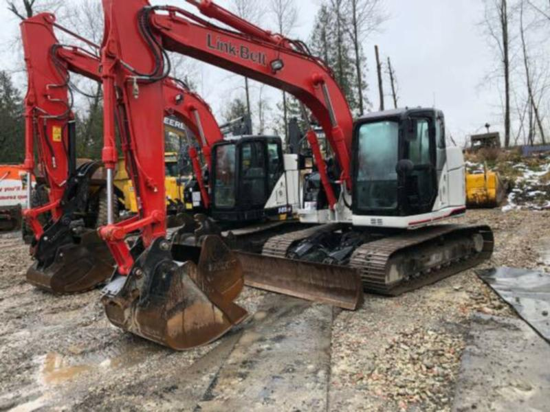2017 Link-Belt 145X3 Excavator, Low Hours