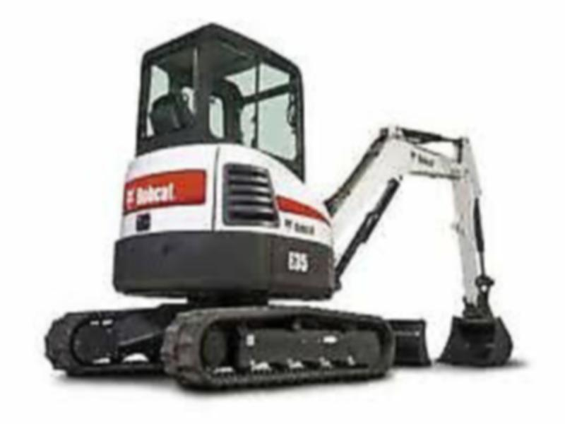 2014 Bobcat E35 Excavator, Low Hours