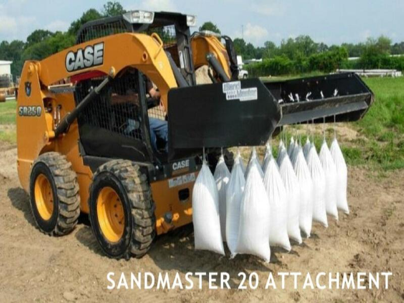 NEW SANDMASTER 20 – SAND BAGGING MACHINE