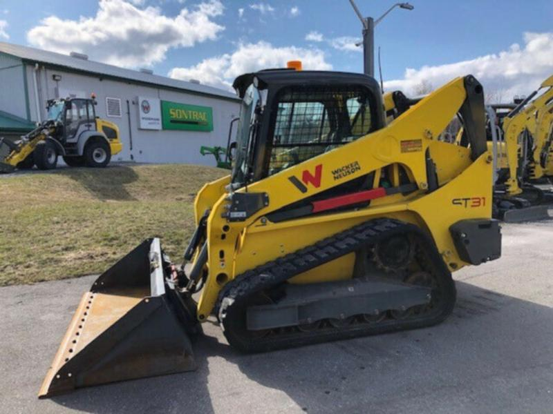 2018 WACKER NEUSON ST31 – TRACK SKIDSTEER – FULLY LOADED