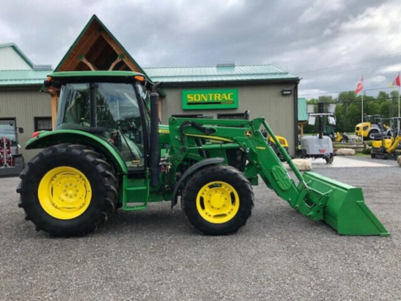 2017 JOHN DEERE 5100M – CAB TRACTOR WITH LOADER – 100 HP