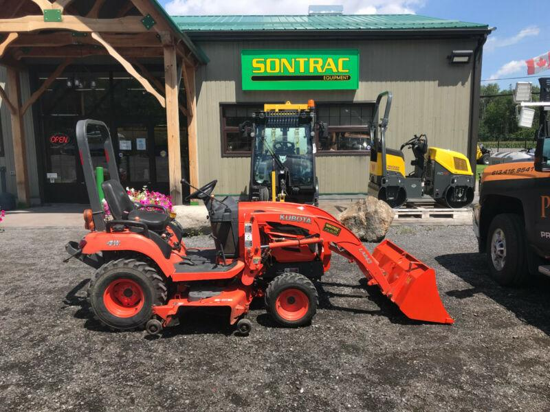 2008 KUBOTA BX2350 WITH LOADER AND MOWER DECK