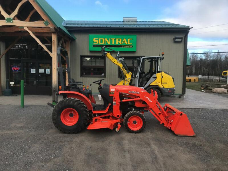 2016 KUBOTA B2650 HSD – WITH LOADER AND MOWER –