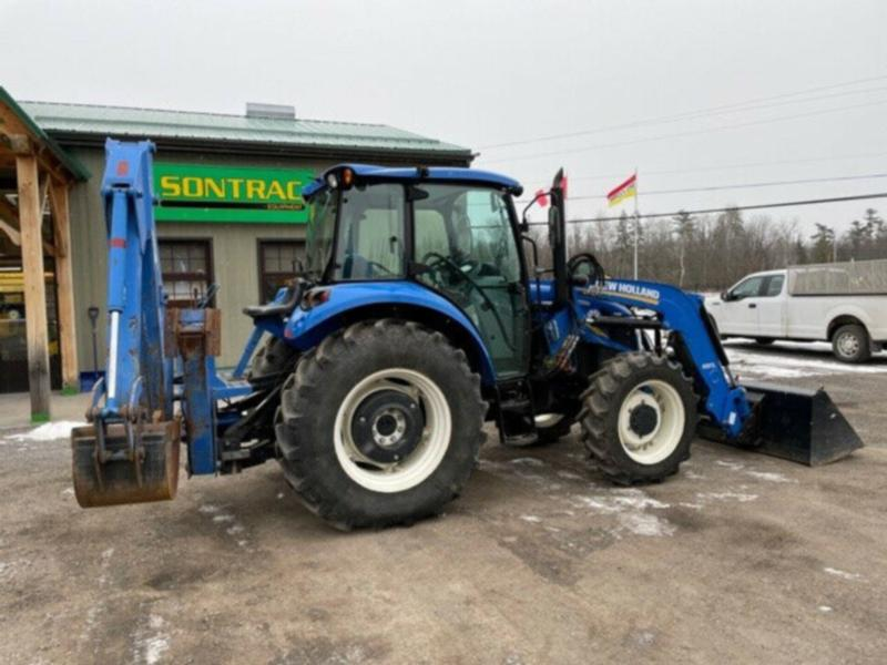 2016 NEW HOLLAND T4.75 – CAB TRACTOR WITH LOADER AND BACKHOE