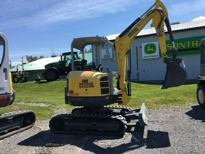 2016 WACKER NEUSON TRACK EXCAVATOR EZ28 DEMO UNIT 50 HOURS ONLY