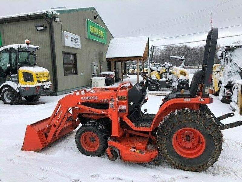 2007 KUBOTA B7510 COMPACT TRACTOR – WITH LOADER AND MOWER