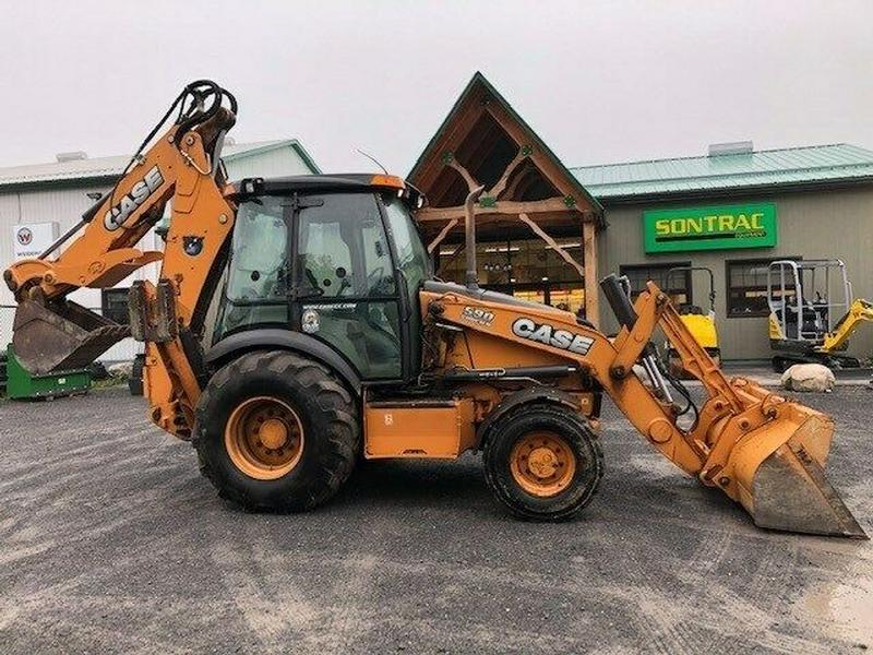 2013 CASE 590SN BACKHOE – EXTENDAHOE –