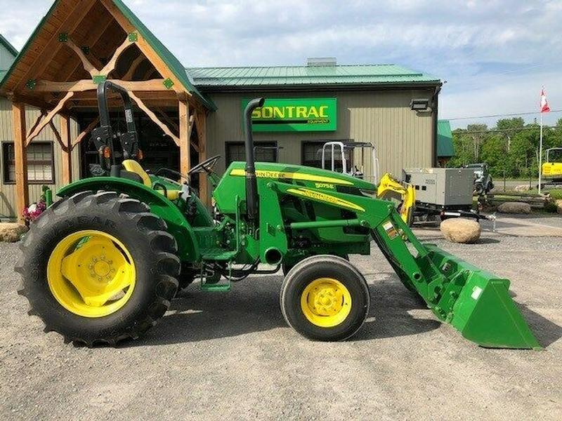 2016 JOHN DEERE 5075E – 2WD – WITH LOADER – LOW HOURS