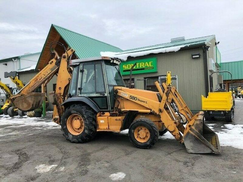 1996 CASE 580 SL BACKHOE