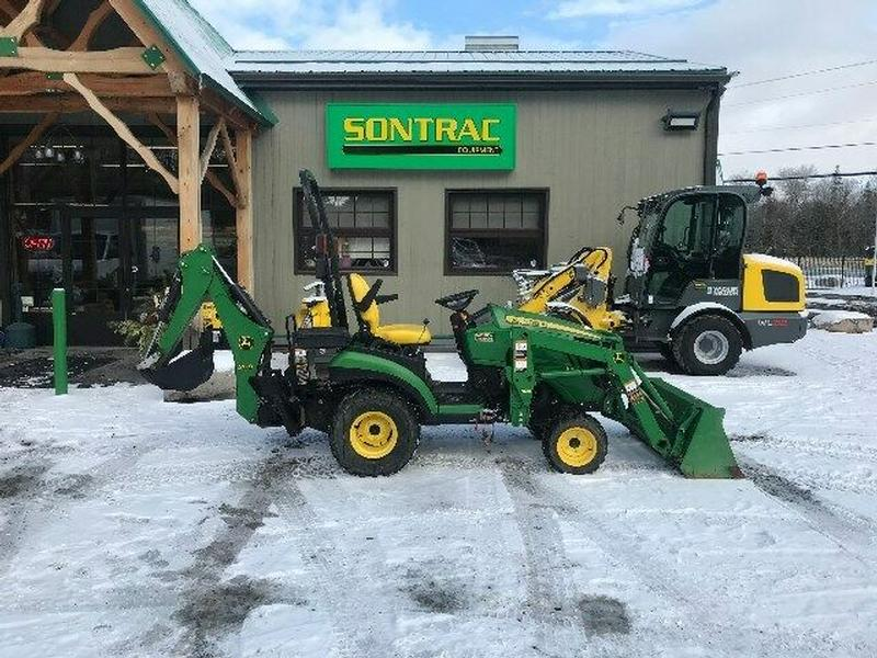 2016 JOHN DEERE 1025R TLB – COMPACT TRACTOR