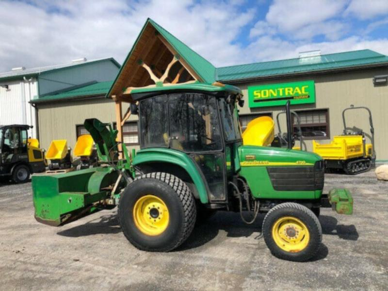 2002 JOHN DEERE 4710 WITH REAR SNOWBLOWER