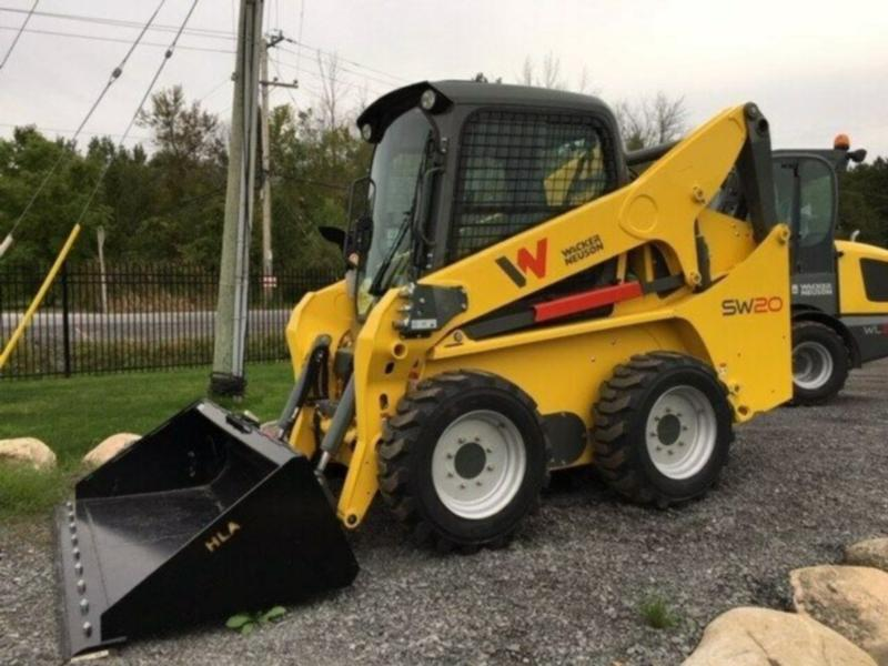 *RENTAL* NEW WACKER NEUSON ST31 SKIDSTEER