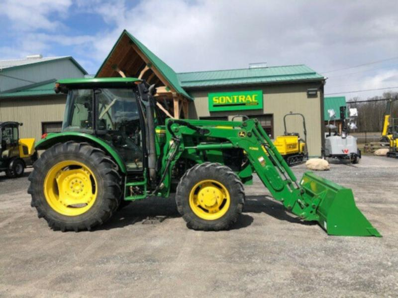 2014 JOHN DEERE 5115M – CAB TRACTOR WITH LOADER – 100 HP