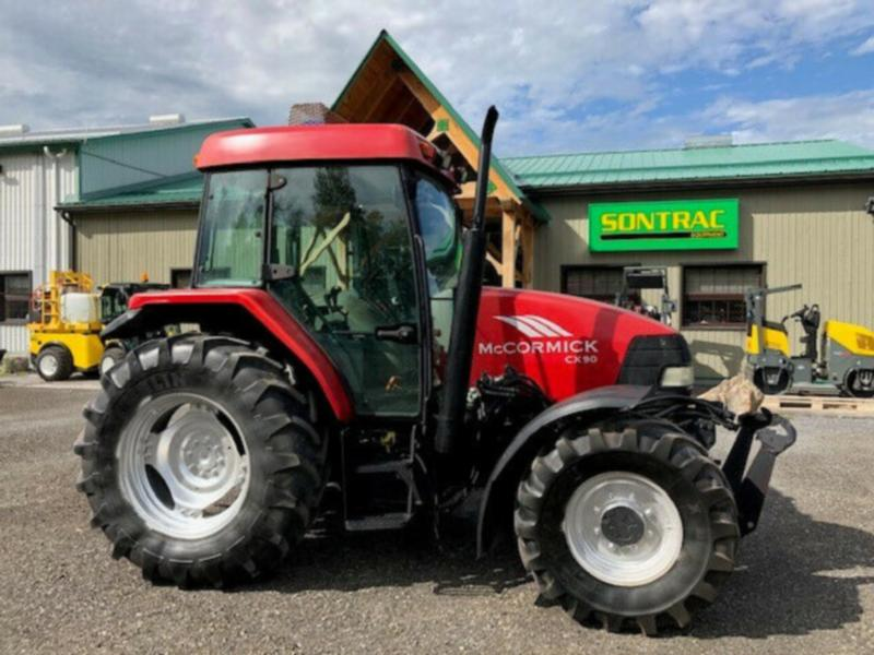 2002 McCORMICK CX90 – CAB TRACTOR – 83HP! FRONT PTO AND LINKAGE!