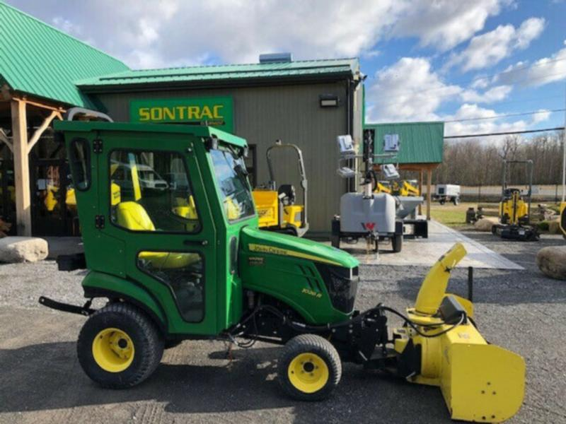 2012 JOHN DEERE 1026R – WITH CAB AND FRONT BLOWER