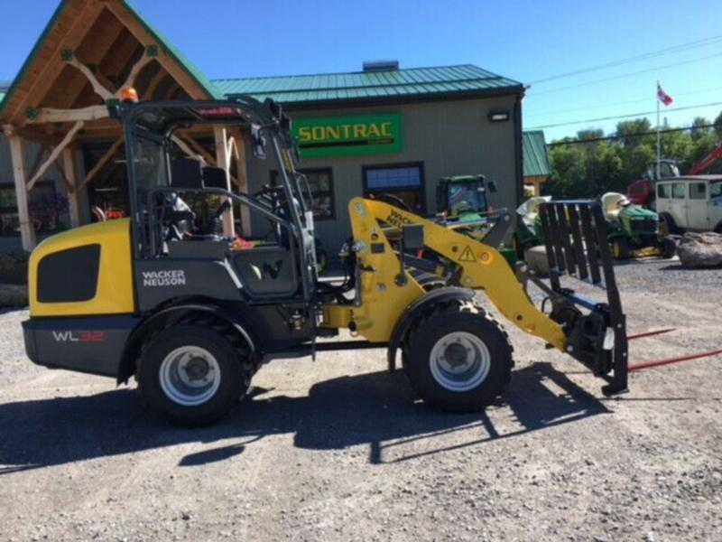 2019 WACKER NEUSON WL32 CANOPY -DEMO UNIT