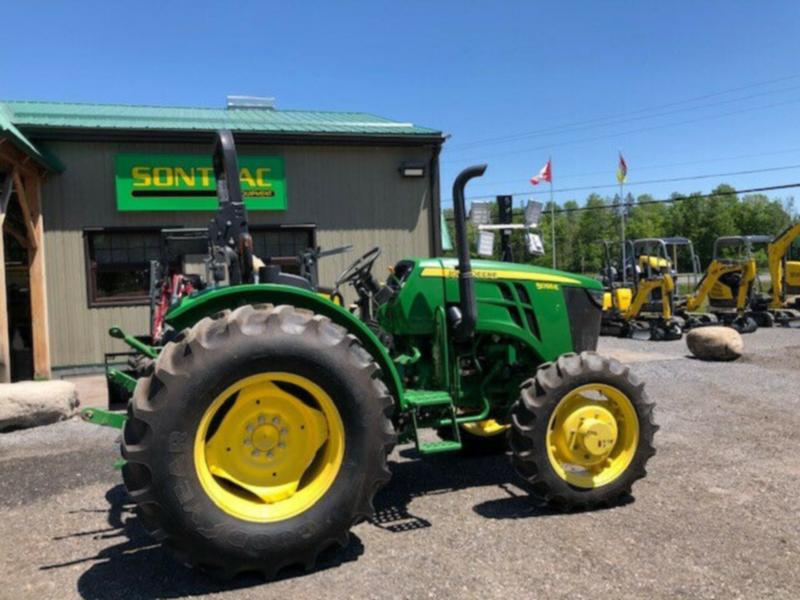 2016 JOHN DEERE 5055E TRACTOR – LOW HOURS