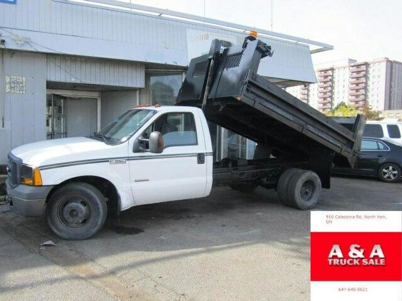 dump truck ford f 350 11 ft box
