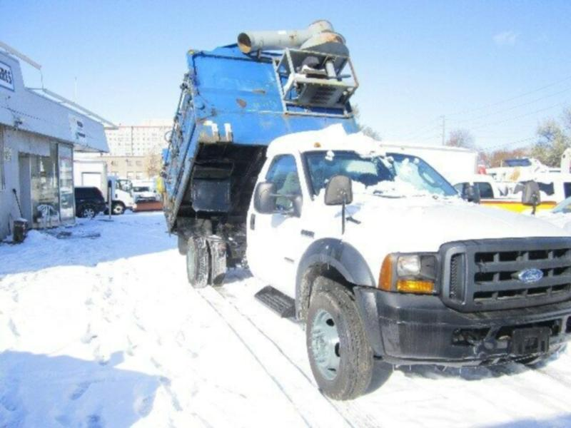 2007 f 550 dump and recycling diesel