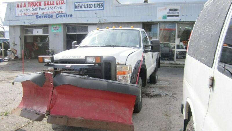 plow truck f 250 4x4 4x4 8 ft box