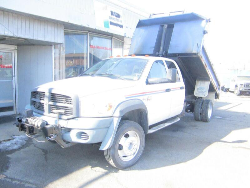 2009 dodge ram 5500 4x4 4 door 11ft dump diesel