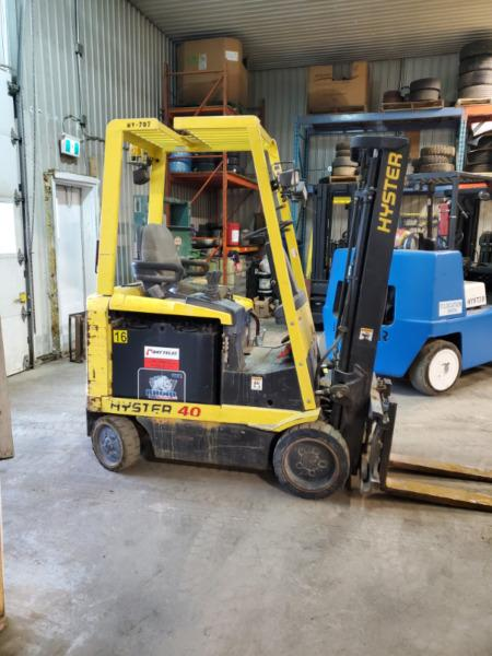 Good running electric forklift with great battery! Delivered!