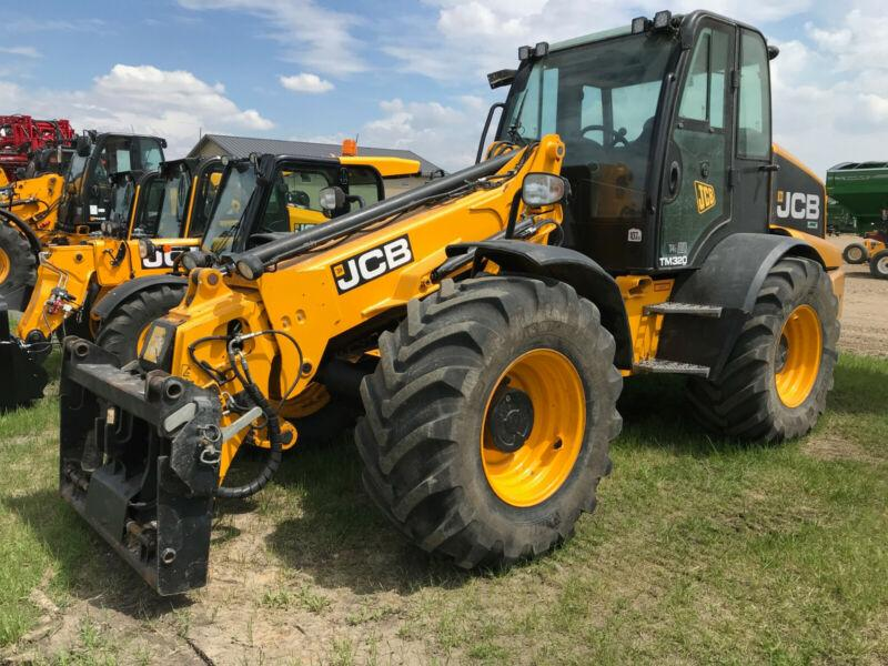 JCB TM320 Agri Telescopic Wheel Loader