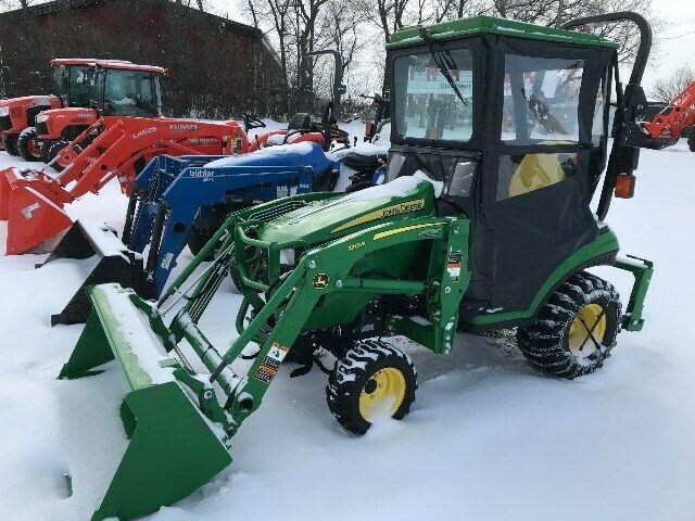 John Deere 1025R Subcompact Tractor and Loader