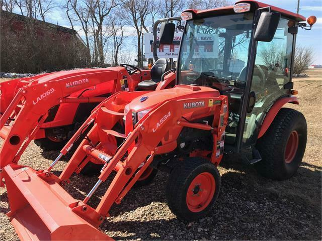 Kubota B3350 Tractor and LA534 Loader