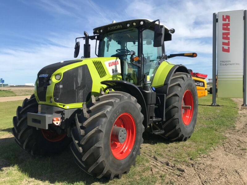 Claas Axion 860 Cmatic MFWD Tractor