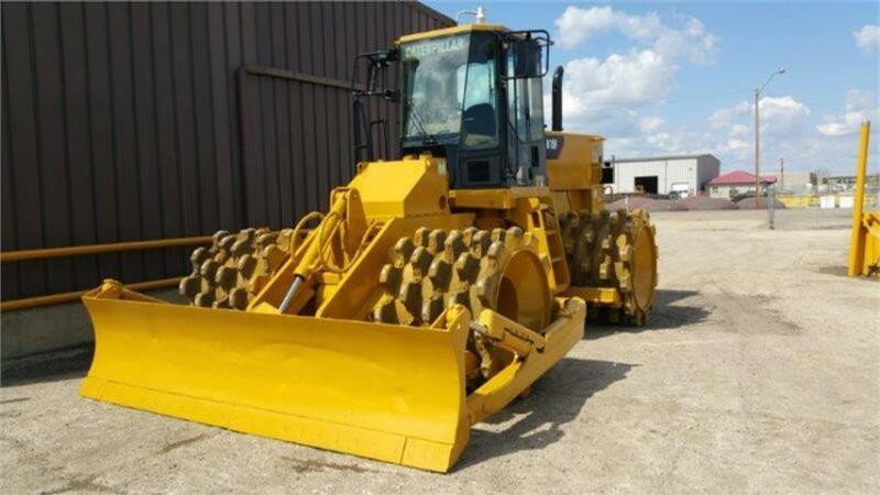 Caterpillar 815F Soil Compactor