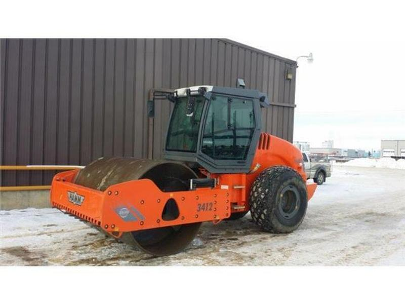2012 Hamm 3412 84 Inch Compactor