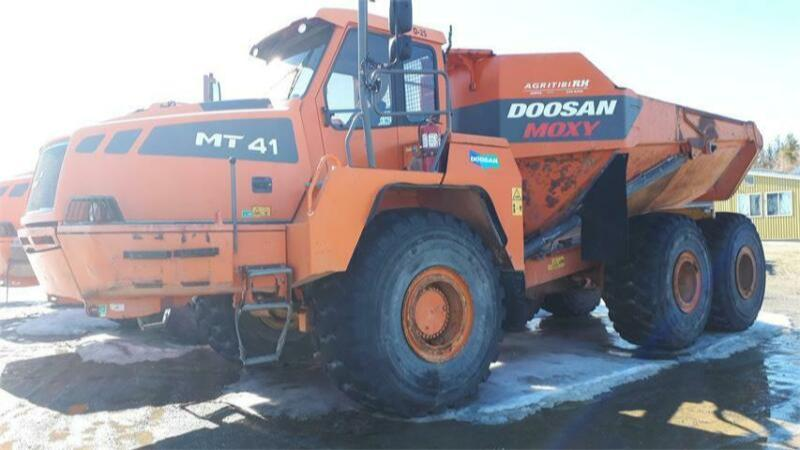 2010 Doosan MT41 Articulated Truck