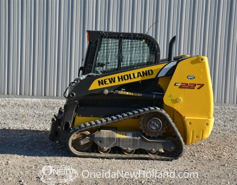 2016 New Holland C227 Track Loader