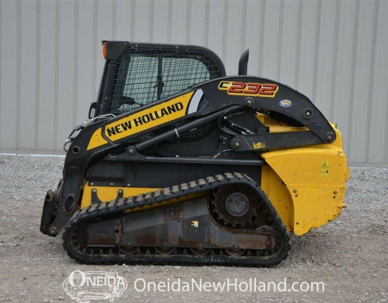 2014 New Holland C232 Track Loader